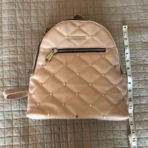 Soft pink mini backpack